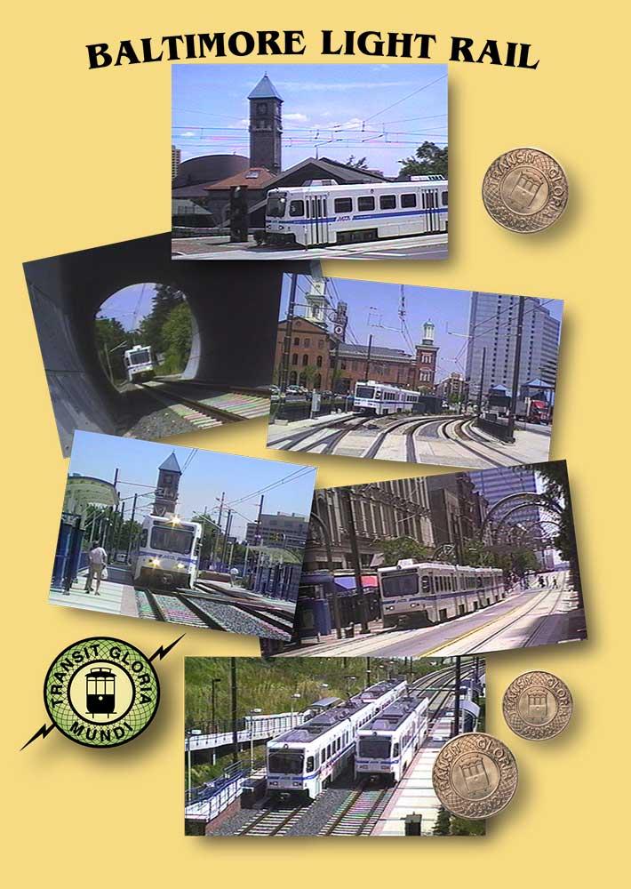 Baltimore Light Rail - DVD Transit Gloria Mundi Train Video Transit Gloria Mundi BLR