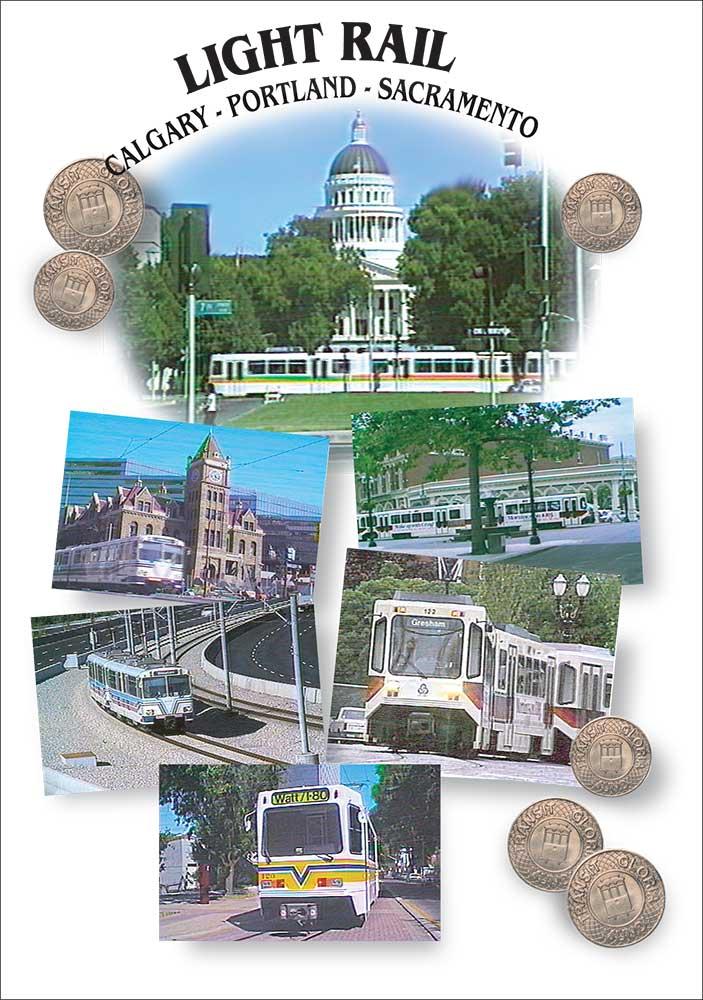 Light Rail Panorama - DVD Transit Gloria Mundi Train Video Transit Gloria Mundi LRP