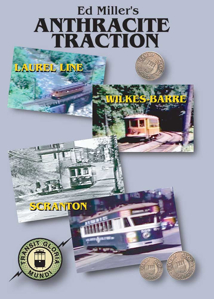 Ed Millers Anthracite Traction on DVD by Transit Gloria Mundi Train Video Transit Gloria Mundi MAT