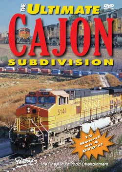 Ultimate Cajon Subdivision 4-Disc Set DVD Train Video Pentrex ULTC-DVD 748268005077