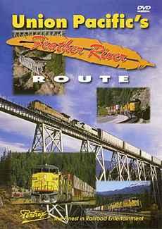 Union Pacifics Feather River Route DVD Train Video Pentrex UPFR-DVD 748268004827
