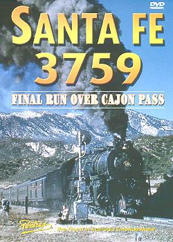 Santa Fe 3759: Final Run Over Cajon Pass DVD Train Video Pentrex VR035-DVD 748268004285