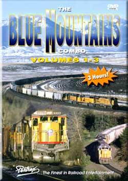 Blue Mountains Vols 1-3 Combo on DVD Train Video Pentrex VRBLUE-DVD 748268004940
