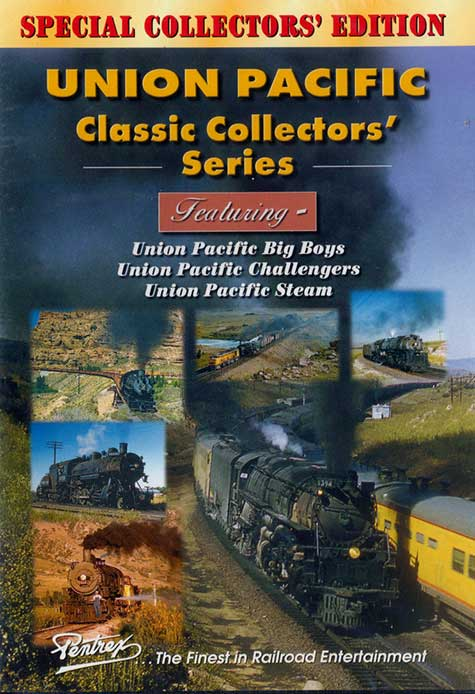 Union Pacific Classic Collectors Series Combo DVD Train Video Pentrex VRUP-DVD 748268004452