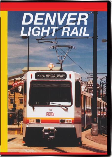 Denver Light Rail on DVD by Valhalla Video Train Video Valhalla Video Productions VV49 9781888949438