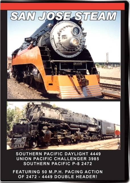 San Jose Steam on DVD by Valhalla Video Train Video Valhalla Video Productions VV61