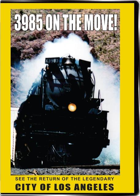 3985 On the Move! The City of Los Angeles on DVD by Valhalla Video Train Video Valhalla Video Productions VV64