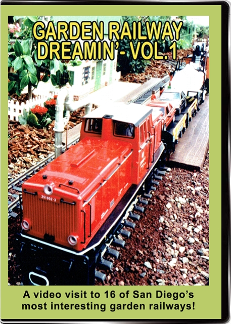 Garden Railway Dreamin Vol 1 DVD Valhalla Train Video Valhalla Video Productions VV65