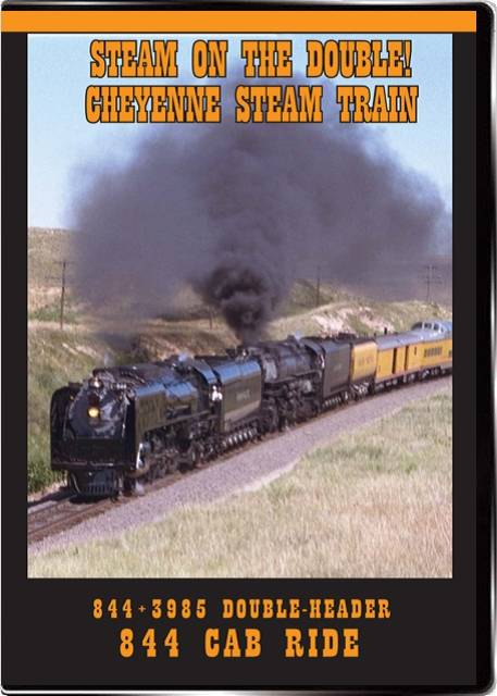 Steam on the Double! Cheyenne Steam Train on DVD by Valhalla Video Valhalla Video Productions VV71