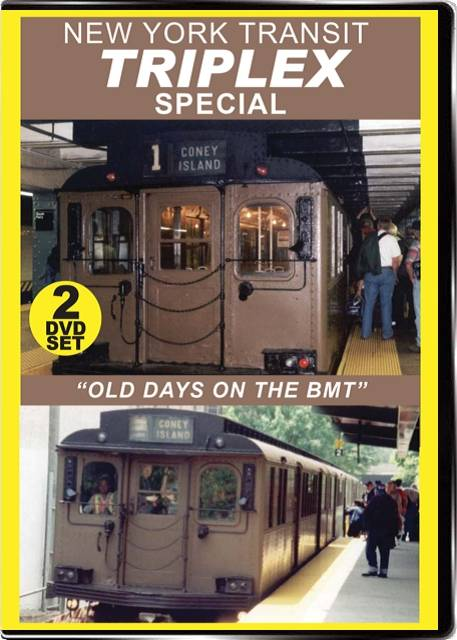 New York Transit Triplex Special 2-Disc Set on DVD by Valhalla Video Train Video Valhalla Video Productions VV73 9781888949681