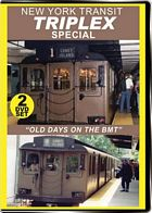 New York Transit Triplex Special 2-Disc Set on DVD by Valhalla Video
