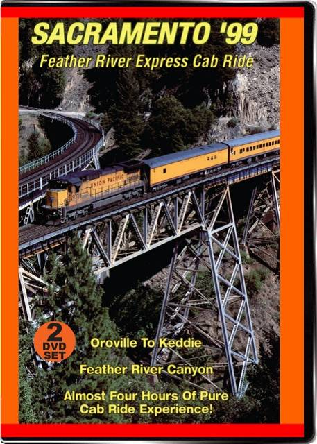Feather River Express Cab Ride 2-Disc DVD Sacramento 1999 Valhalla Video Productions VV78