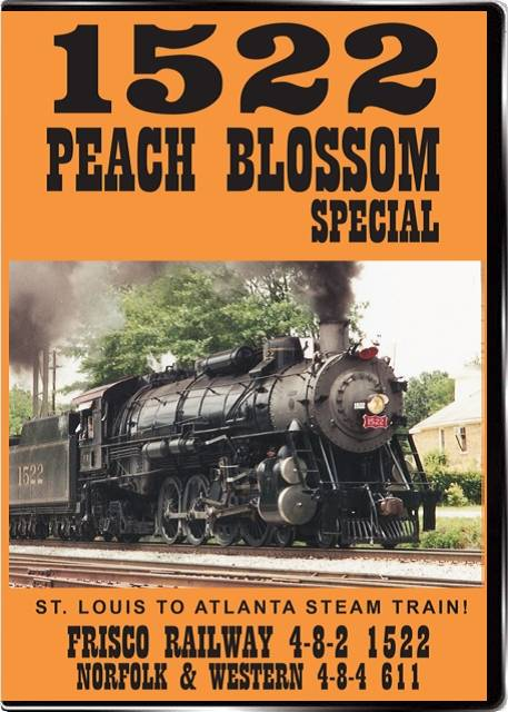 1522 Peach Blossom Special DVD Valhalla Train Video Valhalla Video Productions VV78A