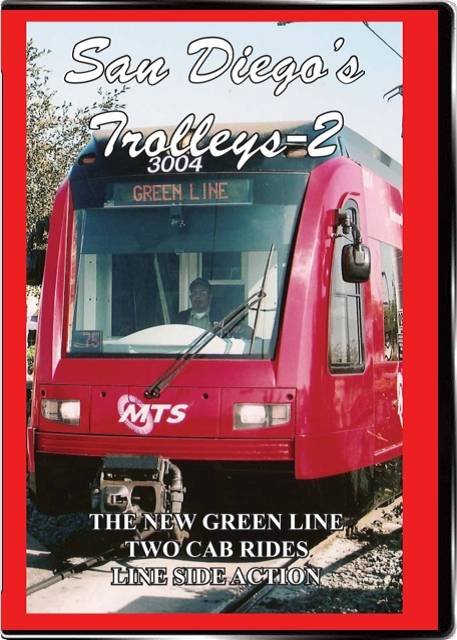 San Diegos Trolleys Vol 2 on DVD by Valhalla Video Train Video Valhalla Video Productions VV81A