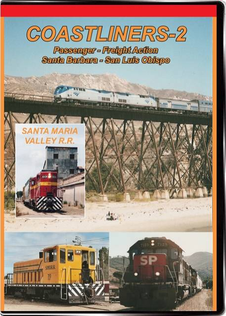 Coastliners Vol 2 Santa Barbara to San Luis Obispo Valhalla Video Productions VV85
