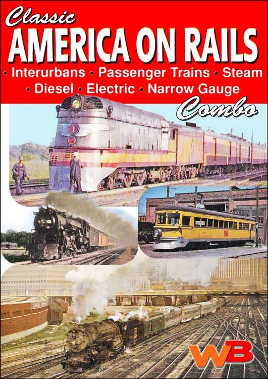 Classic America On Rails Combo DVD WB Video Productions WBAOR