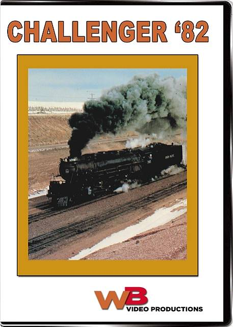 Challenger 82 DVD Train Video WB Video Productions WB002