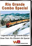 Legend of the Rio Grand Zephyr and Snow Train Ski Special Combo DVD