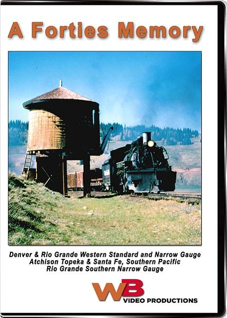 A Forties Memory DVD Train Video WB Video Productions WB010