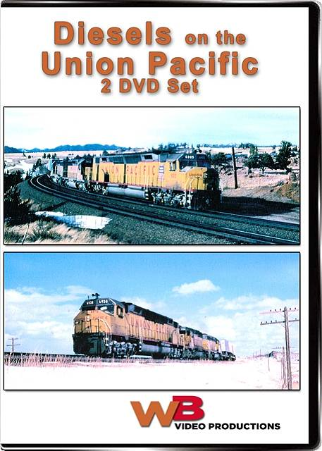 Union Pacific Double Feature 2-DVD Set Diesels on the Union Pacific Train Video WB Video Productions WB013