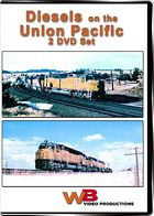 Union Pacific Double Feature 2-DVD Set Diesels on the Union Pacific