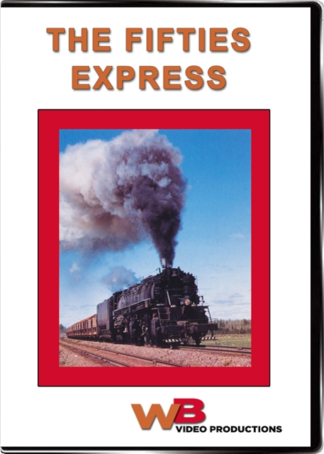 The Fifties Express DVD WB Video Productions WB023
