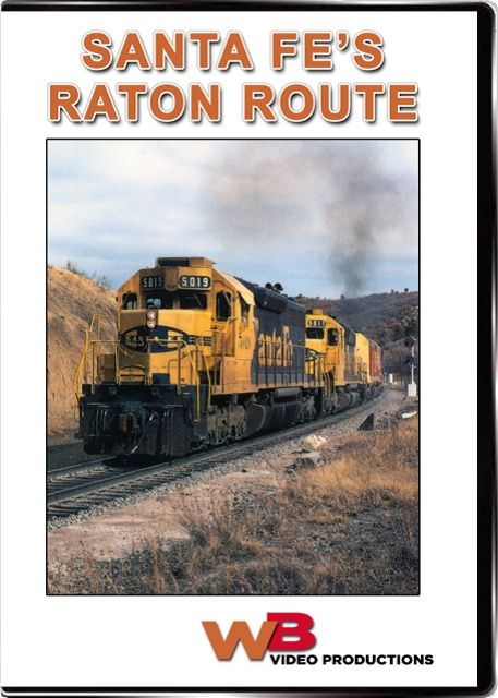 Santa Fes Raton Route DVD Train Video WB Video Productions WB042
