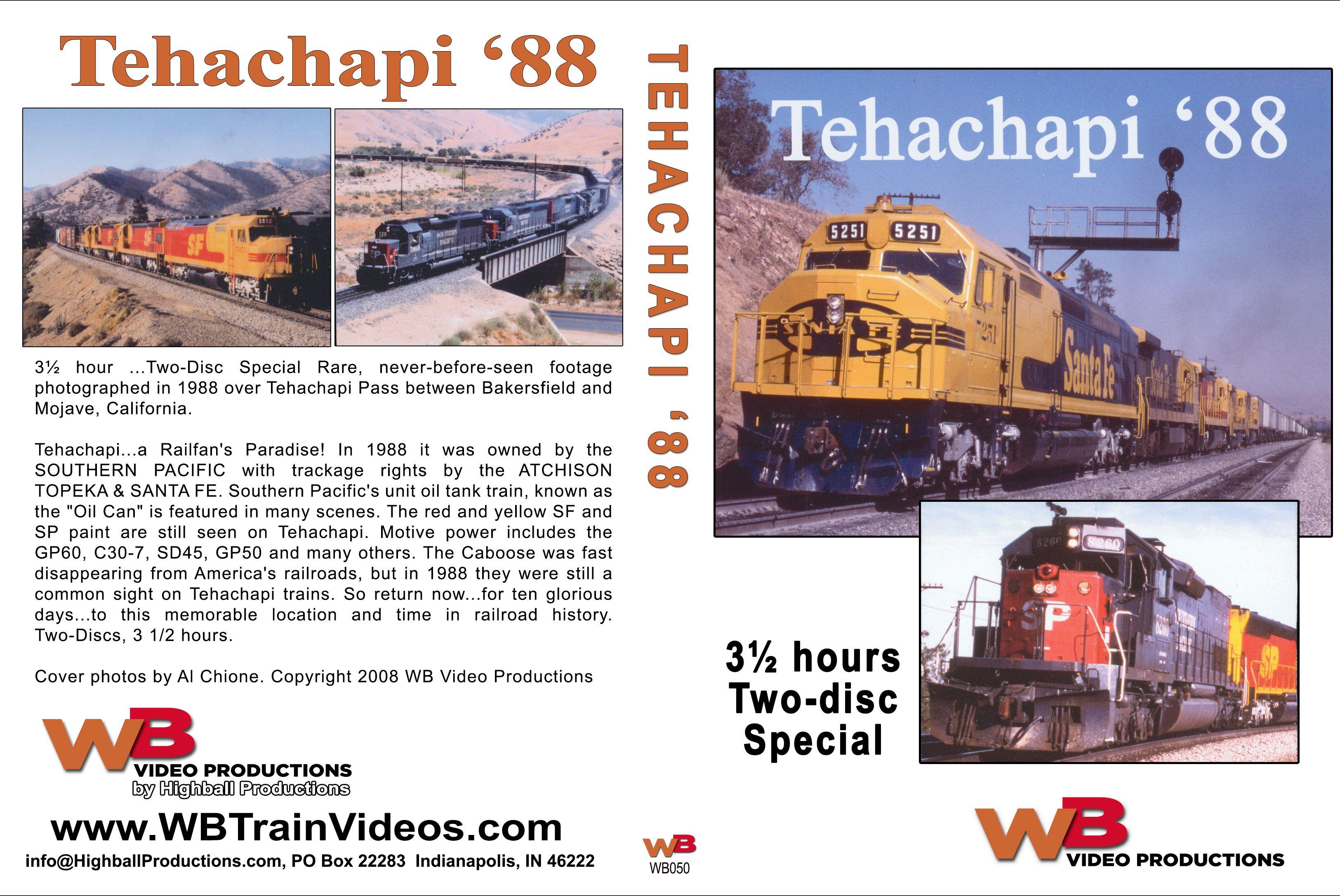 Tehachapi 88 Train Video WB Video Productions WB050