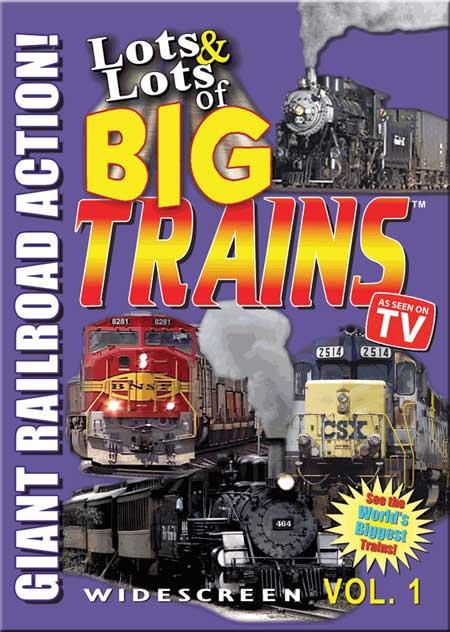 Lots & Lots of Big Trains Volume 1 DVD