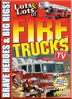 Lots & Lots of Fire Trucks Vol 1