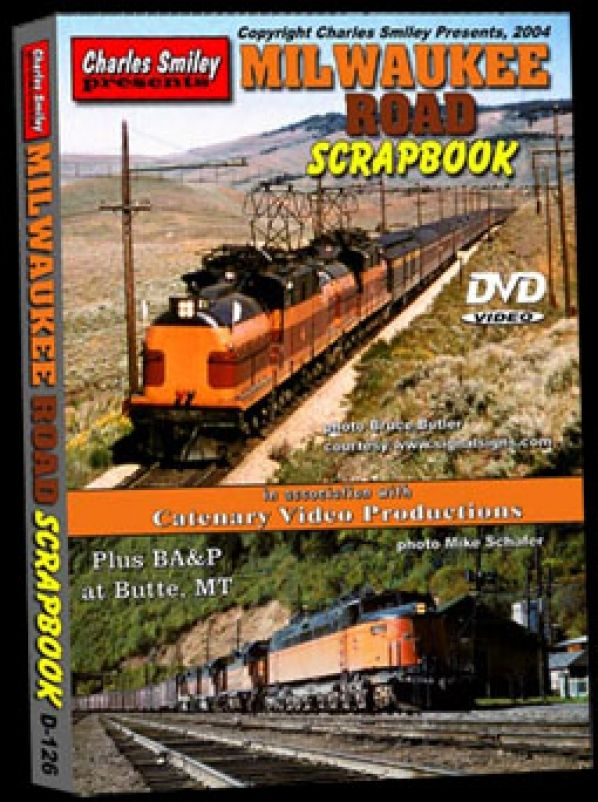 Milwaukee Road Scrapbook D-126 Charles Smiley Presents Train Video Charles Smiley Presents D-126